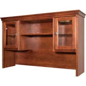Martin Furniture Storage Hutch - Burnish - Huntington Oxford Office Series