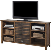 "Martin Furniture 70""W Wooden Credenza - Heritage Series"