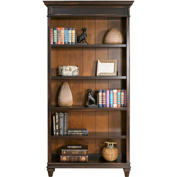 "Martin Furniture 78""H Wooden Bookcase - Hartford Series"