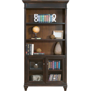 Martin Furniture Library Bookcase - Hartford Series