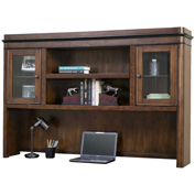 "Martin Furniture 68""W Wooden Hutch - Kensington Series"