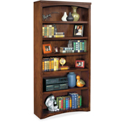 Martin Furniture Mission Pasadena Open Bookcase - kathy ireland Home Series