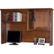 Martin Furniture Organizer Hutch - Mission Pasadena Office Series
