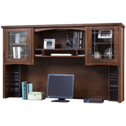 Martin Furniture Glass Door Hutch - Mission Pasadena Office Series