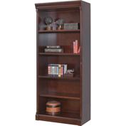 "Martin Furniture 79""H Mount View Open Bookcase - kathy ireland Home Series"