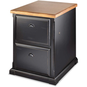 Martin Furniture Southampton Onyx 2-Drawer File Cabinet - kathy ireland Home Series