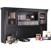 Martin Furniture Deluxe Hutch - Southampton Onyx Office Series