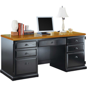 Martin Furniture Computer Credenza - Southampton Onyx Office Series