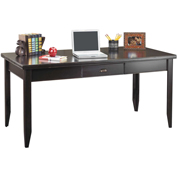 Martin Furniture Black Writing Desk - Tribeca Loft Office Series
