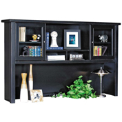 Martin Furniture Black Hutch - Tribeca Loft Office Series