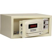 "Mesa Safe Hotel & Residential Electronic Security MH101E-KA Keyed Alike, 15""W x 10""D x 7""H, White"