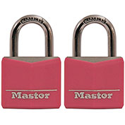 Master Lock® Pink Covered Solid Body Padlock - No. 136T - Pkg Qty 16