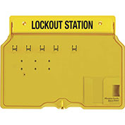 Master Lock® 4 Padlock Station With Cover, Unfilled, 1482B