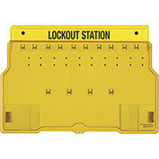 Master Lock® 10 Padlock Station With Cover, Unfilled 1483B