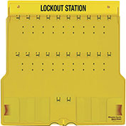 Master Lock® 20 Padlock Station With Cover, Unfilled 1484B