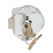 Master Lock® Built-In Key Operated, Manual Deadbolt Locking Lock Master Keyed