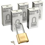 Master Lock® Bottom Resettable Combination Padlocks - No. 175lh - Pkg Qty 3