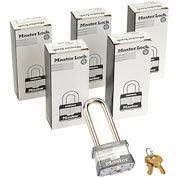 Master Lock® General Security Laminated Padlocks - No. 1kalj - Pkg Qty 3