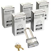 Master Lock® General Security Laminated Keyed Alike Padlocks - No. 3kalh - Pkg Qty 6