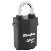 "Master Lock® ProSeries® Solid Steel IC Padlock, 2-1/8""W, No. 6421WO - Pkg Qty 6"