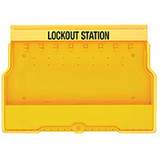 Master Lock® Lockout Station, Unfilled, S1850