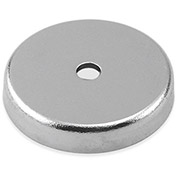 Master Magnetics Neodymium Round Base Magnet RB45N-NEO - 48 Lbs. Pull