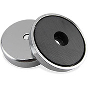Master Magnetics Ceramic Round Base Magnet RB50CBX - 35 Lbs. Pull