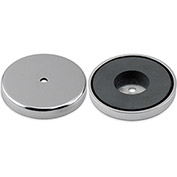 Master Magnetics Ceramic Round Base Magnet RB60CBX - 45 Lbs. Pull