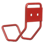 "Marlin Steel 1431005-05, Steel Jug Wall Hook, , 4""W x 4-1/4""D x 2-1/2""H, Red"