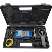Mastercool® 52270 System Analyzer with Round Vane, Clamp-On Thermocouple  Pressure Transducer