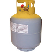 "Mastercool® 63010 50 lb D.O.T.  Refrigerant Recovery Tank Without Float Switch 1/4"" FL-M"