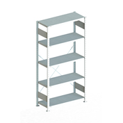 "Meta Storage 183840 CLIP S3 Basic Rack Unit 39""W x 16""D x 86""H (5xV150 Shelves) Galvanized"