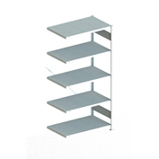 "Meta Storage 183846 CLIP S3 Add-on Rack Unit 39""W x 24""D x 86""H (5xV150 Shelves) Galvanized"