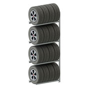 Meta Storage CLIP S3 Tire Rack Add-On 98''H x 36''W x 16''D Galvanized