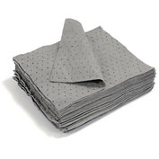 "MBT Gray Dimpled Universal Medium Weight Pads 100/Bale 18"" x 15"""