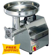 Axis AX-MG12 Meat Grinder, 1.0 HP, #12 Hub, Gear Drive, Forward & Reverse Switch