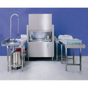 "Jet-Tech FX-44 Conveyor Type Dishwasher, With Built-In Booster, 44"" Tank"