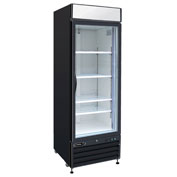 "Kool-It KGF-23 - Freezer Merchandiser, 23 Cu. Ft., 1 Glass Door, Black, 79-1/2""H x 26-1/5""W"