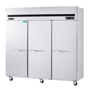 Kool-It KTSR-3 Reach-In Refrigerator 72 Cu. Ft. Silver
