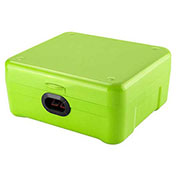"Barska iBox Secure Storage Device With Biometric Lock AX12458 11-1/4"" x 11"" x 5-1/2"" Green"