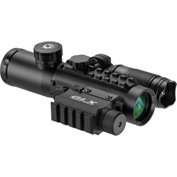 Barska® DA12188 4x30 IR Electro Sight w/GLX Green Laser and 140 Lumen LED Flashlight Combo Set