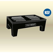 "MasonWays™ 362212 HDAM PolyMight Dunnage Rack Anti-microbial Protection 36""W x 22""D x 12""H"