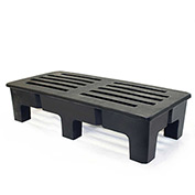 "MasonWays™ 482212 HD PolyMight Dunnage Rack 48""W x 22""D x 12""H, 2000 Lbs. Capacity"