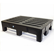 "MasonWays™ 483612 HD PolyMight Dunnage Rack 48""W x 36""D x 12""H, 2500 Lbs. Capacity"
