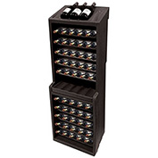 "MasonWays™ WD60 60-Bottle Wine Rack 18-3/4""W x 15-1/2""D x 55-1/2""H"