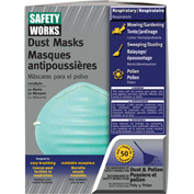 50-Pack Dust And Pollen Masks, MSA 10028560