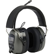 MP3/AM/FM Stereo Radio Ear Muffs - Pkg Qty 4