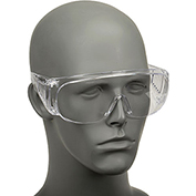 Ovrg™ Economical Clear Safety Glasses, Safety Works 817691 - Pkg Qty 24