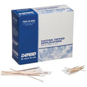 "Cotton-Tipped Applicators, 6"" Dowel, 1000/Box"