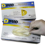 Powder-Free Micro-Textured Latex Exam Gloves - M